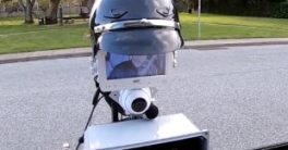 Robot policía GoBetween para controles de tráfico en carretera