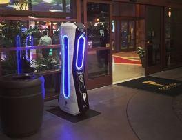 robot policía K1 de la empresa Knightscopea