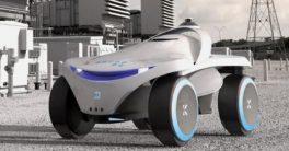 Robot policía en los juegos mundiales militares
