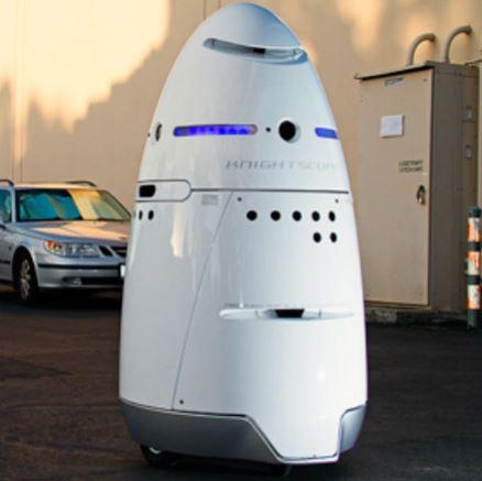Robot policía Anbot creado por Universidad de China