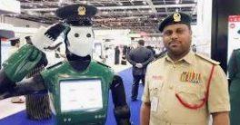 Robot policía Reem en Dubai diseñado por la empresa Pal Robotics