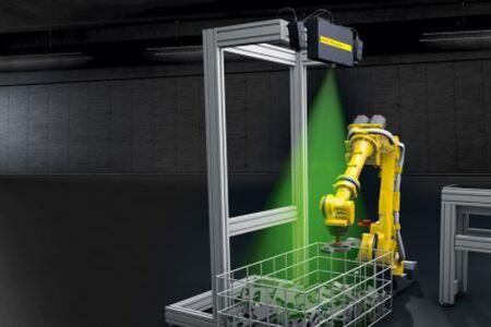 Fanuc presenta el sensor de visión 3DV1600