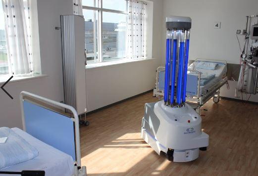 Atención a UVD-Robots, el robot que combate el coronavirus